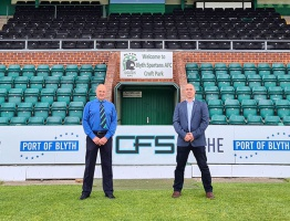 CFS's Blyth Spartans Sponsorship Announcement